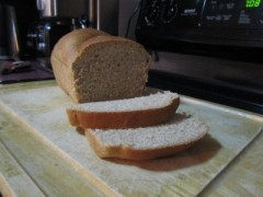 My first loaf (last January)