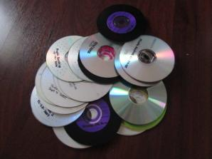 Burned data CDs