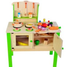 Kitchen (Photo credit: http://greenwooodentoy.en.made-in-china.com)