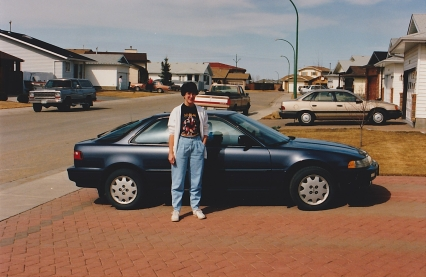 I liked shining up my Acura. And wearing my Def Leppard T-shirt.