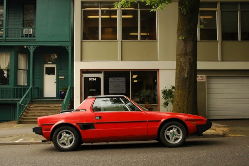 Car I wished I had! Fiat X1-9. Photo credit: oldparkedcars.com