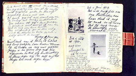 Diary of Anne Frank. Photo: http://www.bbc.co.uk/annefrank/timeline.shtml
