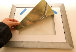 Matting and mounting photos. Credit: digitalbirdphotography.com