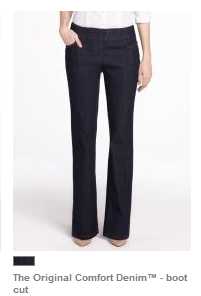 Jeans I would actually wear from Reitmans - let's see if they fit! Photo: reitmans.com