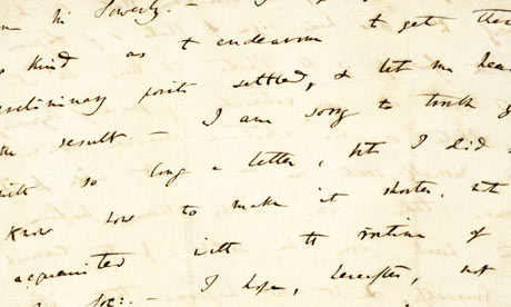 A Letter from Charles Darwin (Photo: The Guardian)