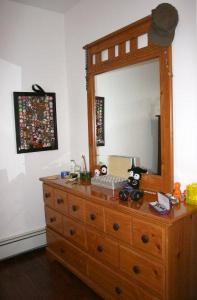 Dresser # 1. Beside it is my pin collection!