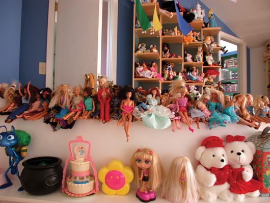Dolls from UCLA study of American life,