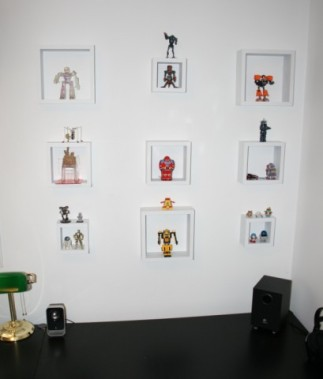 Robot display in our new office