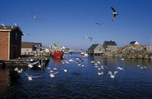 Fishing Village at Peggy's Cove (Photo: gocanada.about.com)