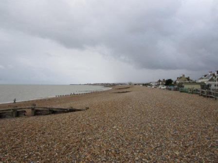 Beach at Pevensey, south coast