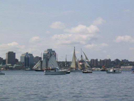 Tall Ships in the Halifax Harbour