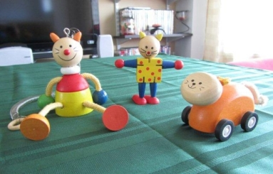 A few of my favourite wooden toys