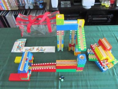 Hours of fun with the marble run