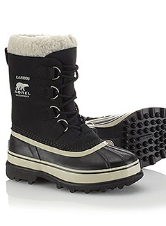 Sorel snow boots, not made in Canada