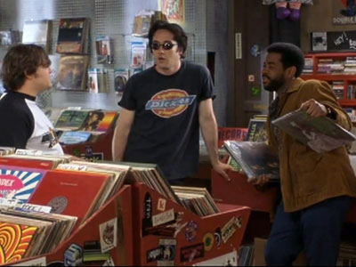 The record store in the movie High Fidelity