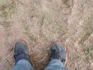 Why you need yr rubber boots