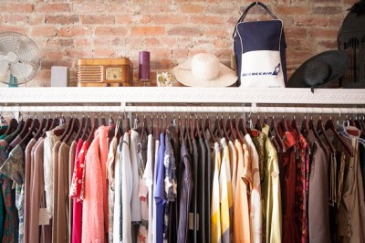 A typical vintage clothing store (Photo: blogTO.com)