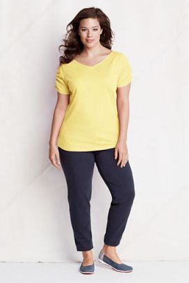 My summer work look, just add a cardi! (Photo: landsend.com)