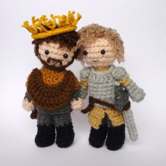 My favourite couple from Game of Thrones, Renly and Loras. Awesome art from: lunascrafts.livejournal.com