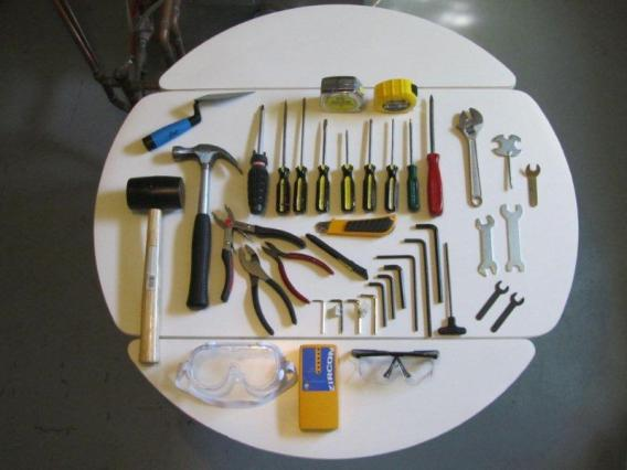 Contents of my tool box