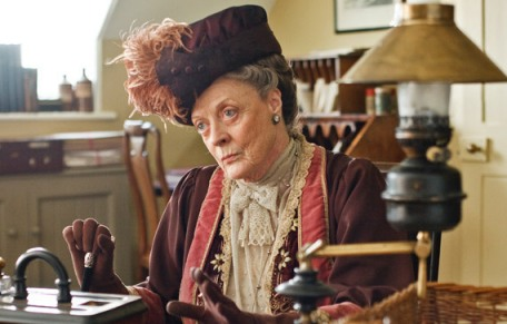 Why swear when you can just cast a Look? (Photo of Downton Abbey's Dowager Countess by pbs.org)