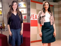 The lovely Mayim Bialik on What Not to Wear