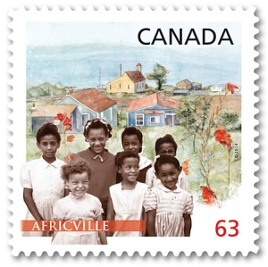 New stamp commemorating Africville (Photo: cbc.ca)