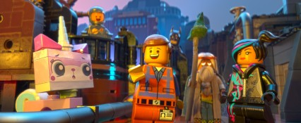 Still singing the theme song: Everything Is Awesome!
