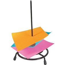 Your co-workers used to leave you messages and notes on the spike on your desk!