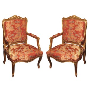 Louis XIV Armchairs (Photo: 1stdibs.com)
