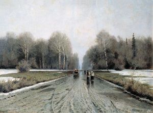 Early Spring in Russia, 1885. Photo: Wikipedia, Creative Commons