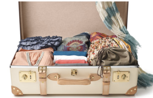 Suitcase is too nice to use! Not mine! (Photo: styleblueprint.com)
