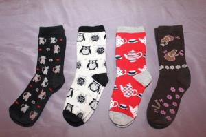 If I received less cute socks as gifts, it would be easier to pare down!