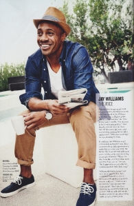 Outfit from target featured in GQ