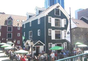 I don't always ask to be seated outdoors in the summer! (Photo: Lower Deck, Halifax from tripadvisor)