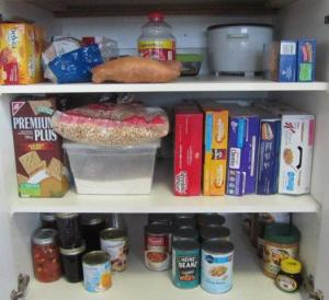 Packaged Foods Cupboard