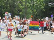 Parade Marshall Scott Jones was made paraplegic in a homophobic attack. This is his response.