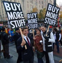 Black Friday spoof protest. Source unknown.
