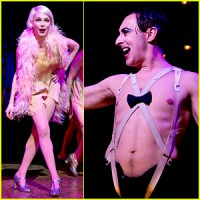 This production of Cabaret features Michelle Williams and Alan Cumming