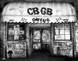 The infamous CBGB. Yes, I know it's closed :(