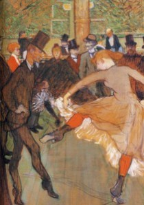 Toulouse-Lautrec, Training of the New Girls (Moulin Rouge), 1889