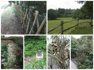 Scenic elements: fences, doors, windows, gates