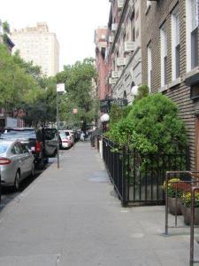 Leafy Street in Greenwich Village