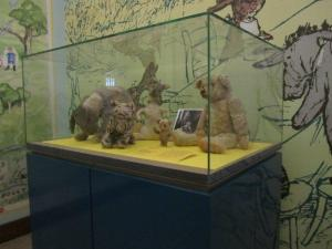 Christopher Robin's Pooh toys