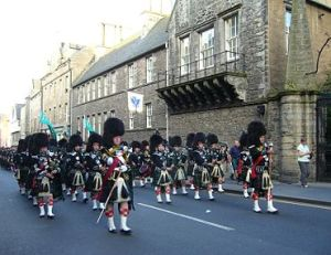 March can keep marching! (Incidentally, the only marching bands we have in NS are Pipe and Drum bands - but this one is from Edinburgh (courtesy Wikipedia)