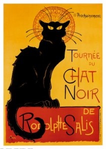Le Chat Noir, grouchy version