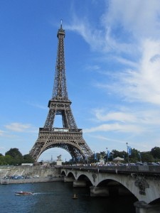 Tour Eiffel and Pont d'Iena