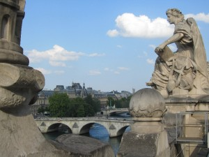 View from rooftop of Musee d'Orsay