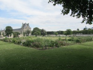 Tuileries Gardens and classical sculpture