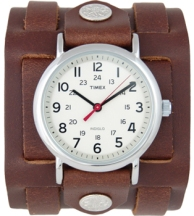 Timex cuff watch $100 US, my cheaper version was $30